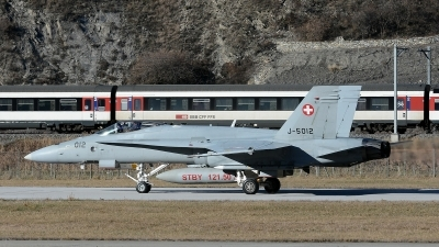Photo ID 135860 by Martin Thoeni - Powerplanes. Switzerland Air Force McDonnell Douglas F A 18C Hornet, J 5012