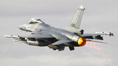 Photo ID 135809 by Ruben Galindo. Netherlands Air Force General Dynamics F 16AM Fighting Falcon, J 060