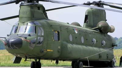 Photo ID 136167 by Arie van Groen. Netherlands Air Force Boeing Vertol CH 47D Chinook, D 102