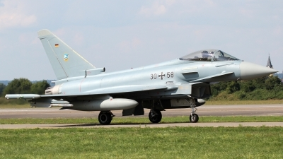 Photo ID 136357 by Patrick Weis. Germany Air Force Eurofighter EF 2000 Typhoon S, 30 58