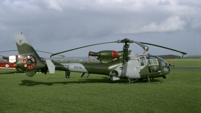 Photo ID 136379 by Joop de Groot. UK Marines Westland SA 341B Gazelle AH1, ZA776