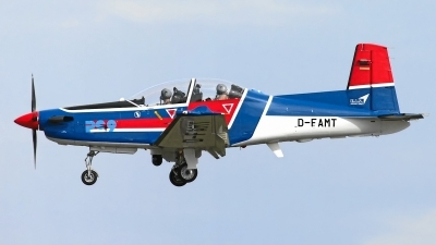 Photo ID 136438 by Rainer Mueller. Company Owned E I S Aircraft GmbH Pilatus PC 9B, D FAMT