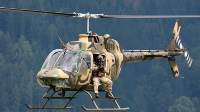 Photo ID 136628 by Gyula Rácz. Austria Air Force Bell OH 58B Kiowa, 3C OC