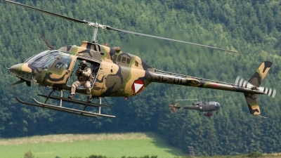 Photo ID 136611 by Gyula Rácz. Austria Air Force Bell OH 58B Kiowa, 3C OC