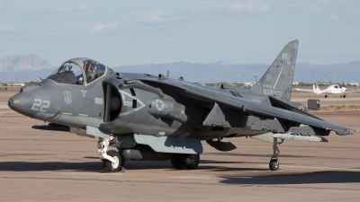 Photo ID 136588 by Sander Meijering. USA Marines McDonnell Douglas AV 8B Harrier II, 164545