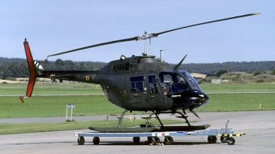 Photo ID 136580 by Joop de Groot. Sweden Armed Forces Agusta Hkp6A JetRanger AB 206A, 06051