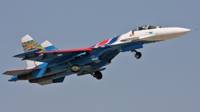 Photo ID 136751 by Jan Suchanek. Russia Air Force Sukhoi Su 27S, 10 BLUE