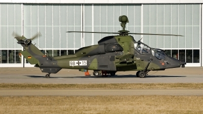 Photo ID 17764 by Jörg Pfeifer. Germany Army Eurocopter EC 665 Tiger UHT, 98 15