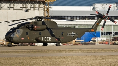 Photo ID 17765 by Jörg Pfeifer. Germany Army Sikorsky CH 53G Super Stallion, 84 18