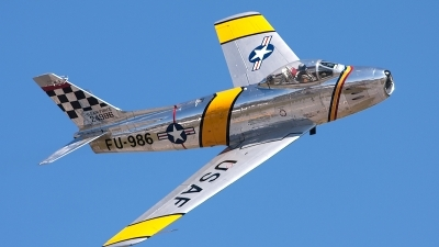 Photo ID 136991 by George Oakey, Jr.. Private Private North American F 86F Sabre, NX188RL