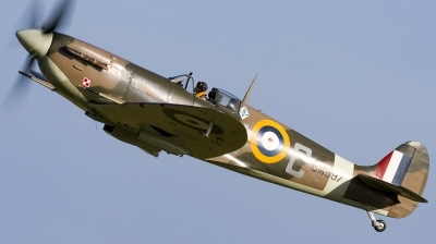 Photo ID 136926 by flyer1. Private Historic Aircraft Collection Supermarine 349 Spitfire LF5B, G MKVB