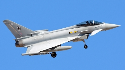 Photo ID 136949 by Mark Munzel. UK Air Force Eurofighter EF 2000 Typhoon FGR4, ZJ932
