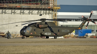 Photo ID 17790 by Peter Seidel. Germany Army Sikorsky CH 53G Super Stallion, 84 18