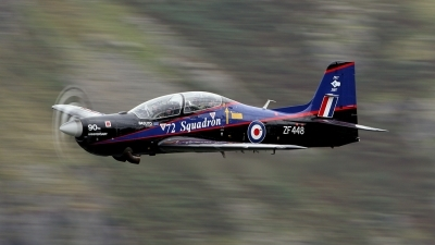 Photo ID 17795 by Scott Rathbone. UK Air Force Short Tucano T1, ZF448