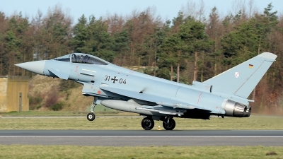 Photo ID 137004 by Lieuwe Hofstra. Germany Air Force Eurofighter EF 2000 Typhoon S, 31 04