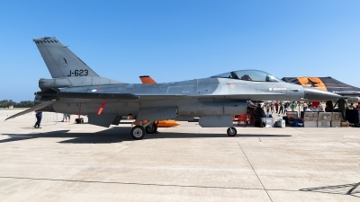 Photo ID 137558 by Jesus Peñas. Netherlands Air Force General Dynamics F 16AM Fighting Falcon, J 623