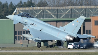 Photo ID 137229 by Lieuwe Hofstra. Germany Air Force Eurofighter EF 2000 Typhoon S, 31 04