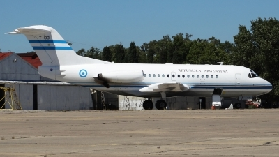 Photo ID 137324 by Martin Kubo. Argentina Government Fokker F 28 1000 Fellowship, T 03