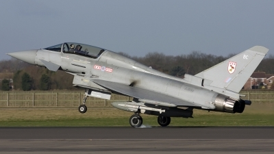Photo ID 17849 by Chris Lofting. UK Air Force Eurofighter EF 2000 Typhoon T1, ZJ800