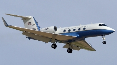 Photo ID 137732 by Brian Lockett. USA Air Force Gulfstream Aerospace C 20B Gulfstream III, 86 0203