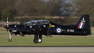 Photo ID 17851 by Chris Lofting. UK Air Force Short Tucano T1, ZF344