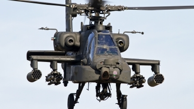 Photo ID 137382 by Niels Roman / VORTEX-images. Netherlands Air Force Boeing AH 64D Apache, Q 08