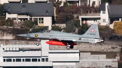 Photo ID 137626 by Andrea Bolliger. Switzerland Air Force Northrop F 5E Tiger II, J 3092