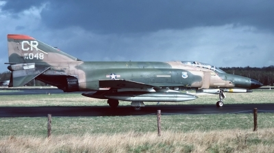 Photo ID 137648 by Arie van Groen. USA Air Force McDonnell Douglas F 4E Phantom II, 74 1048