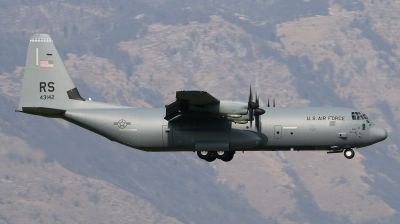 Photo ID 137663 by Giampaolo Tonello. USA Air Force Lockheed Martin C 130J 30 Hercules L 382, 04 3142