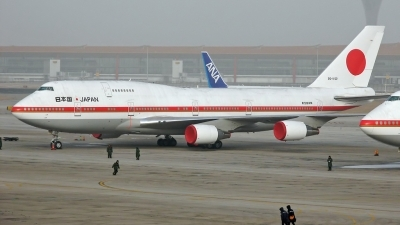 Photo ID 17900 by Weiqiang. Japan Air Force Boeing 747 47C, 20 1102