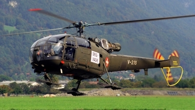 Photo ID 137770 by Sven Zimmermann. Switzerland Air Force Aerospatiale SA 316B Alouette III, V 216