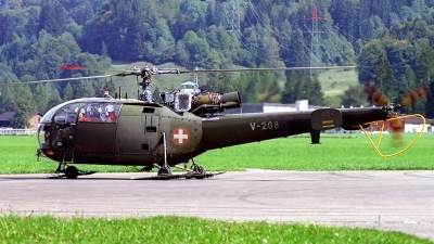 Photo ID 137771 by Sven Zimmermann. Switzerland Air Force Aerospatiale SA 316B Alouette III, V 208