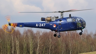 Photo ID 137827 by Mario Boeren. Netherlands Air Force Aerospatiale SA 316B Alouette III, A 247