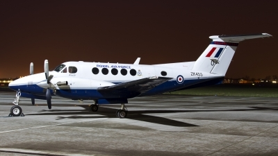 Photo ID 138009 by Chris Lofting. UK Air Force Beech Super King Air B200 GT, ZK455