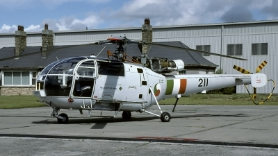 Photo ID 138146 by Marinus Dirk Tabak. Ireland Air Force Aerospatiale SA 316B Alouette III, 211