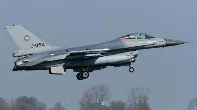 Photo ID 138161 by Rainer Mueller. Netherlands Air Force General Dynamics F 16AM Fighting Falcon, J 866