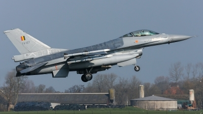 Photo ID 138200 by Rainer Mueller. Belgium Air Force General Dynamics F 16AM Fighting Falcon, FA 127