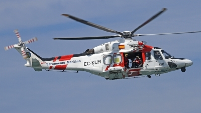 Photo ID 138266 by Fernando Sousa. Spain Maritime Safety and Rescue Agency Agusta Westland AW139, EC KLM