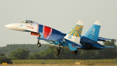 Photo ID 138339 by Maurice Kockro. Russia Air Force Sukhoi Su 27S, 08 BLUE