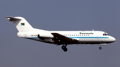 Photo ID 138364 by Carl Brent. Tanzania Government Fokker F 28 3000 Fellowship, 5H CCM