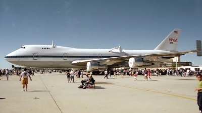 Photo ID 17997 by Michael Baldock. USA NASA Boeing 747SR 46 SCA, N911NA
