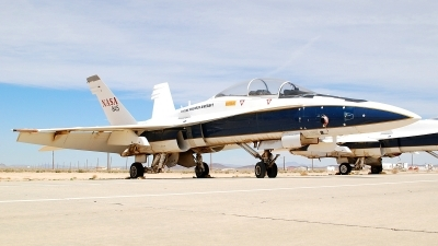 Photo ID 138528 by Peter Boschert. USA NASA McDonnell Douglas TF 18A Hornet, N845NA