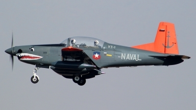 Photo ID 138483 by Antonio Segovia Rentería. Chile Navy Pilatus PC 7 Turbo Trainer, 211