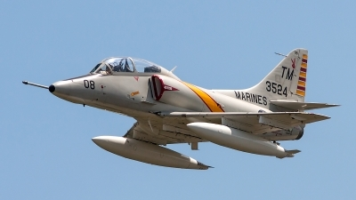 Photo ID 138615 by George Oakey, Jr.. Private Collings Foundation McDonnell Douglas TA 4F Skyhawk, N534CF