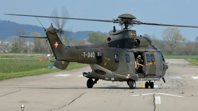 Photo ID 138784 by Martin Thoeni - Powerplanes. Switzerland Air Force Aerospatiale AS 532UL Cougar, T 340