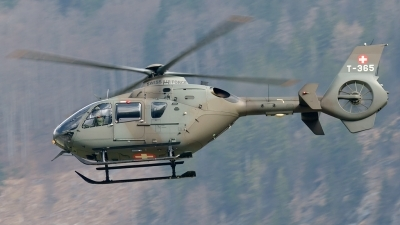 Photo ID 138772 by Sven Zimmermann. Switzerland Air Force Eurocopter EC 635P2, T 365