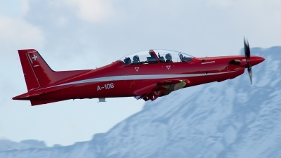 Photo ID 140090 by Andreas Weber. Switzerland Air Force Pilatus PC 21, A 106