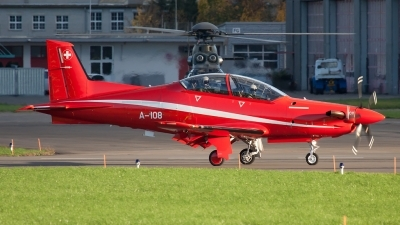 Photo ID 138831 by Andreas Weber. Switzerland Air Force Pilatus PC 21, A 108
