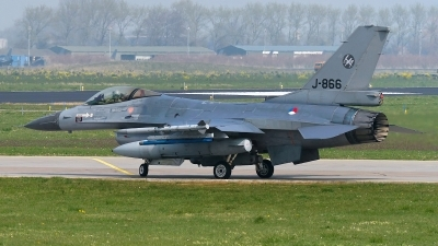 Photo ID 138852 by Rainer Mueller. Netherlands Air Force General Dynamics F 16AM Fighting Falcon, J 866