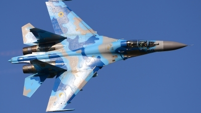 Photo ID 139097 by Stephan Franke - Fighter-Wings. Ukraine Air Force Sukhoi Su 27UB, 69 BLUE